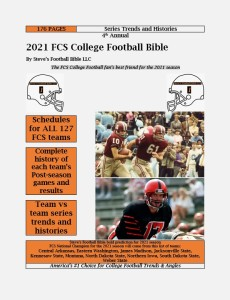 2021 FCS College Football Bible Cover