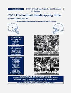 2021 Pro Football Bible Cover